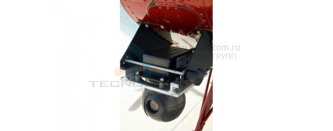 Small Gyro-stabilized video system for UAV QUAD T