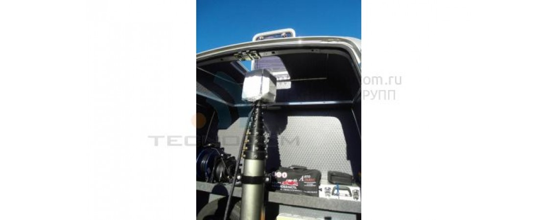 Mobile complex of video observation based on the vehicle Maxus