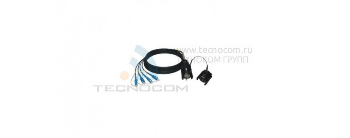 Soft fiber optic cable (A type)